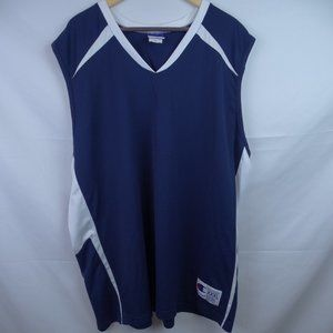 Champion Jersey Men's Size XXXL Solid Blue & White